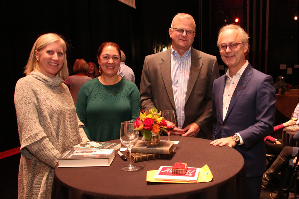 Amor Towles and Podium Event Photo